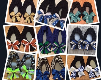 Custom made Cheer Shoe Covers