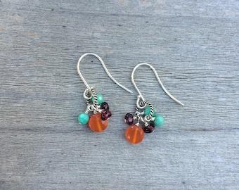 Fall bounty earrings