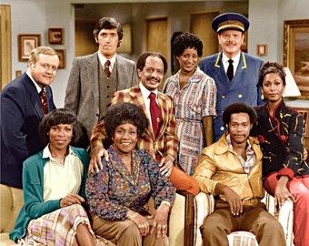 Cast of the sitcom The Jefferson's , 1970's