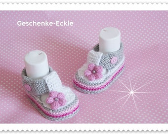 Baby shoes girl pink white baby shoes