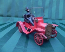 Vintage Revell Toy Maxwell Old Time Car and Person