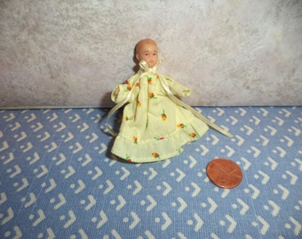 1:12 scale Dollhouse Miniature baby girl