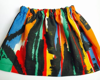 Vintage 1980's Abstract Skirt