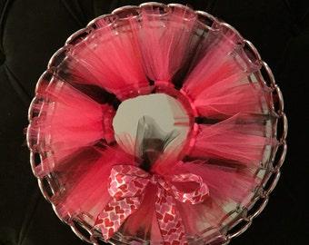 Minnie Mouse themed Tutu - Red, Pink & Black tutu