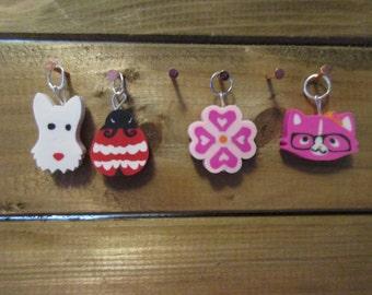 Knit stitch markers