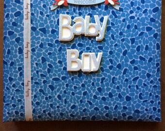 Baby Boy Memory Book