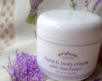 Hand & Body Creme with Shea Butter