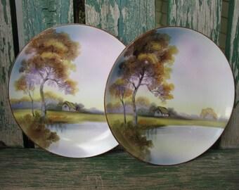 Vintage Noritake China Plates