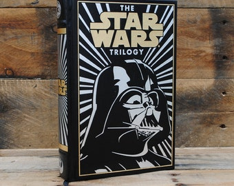 Book Safe - The Star Wars Trilogy - Leather Bound Hollow Book Safe