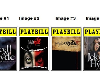 Theater / Show Charm - Playbill  - JEKYLL and HYDE