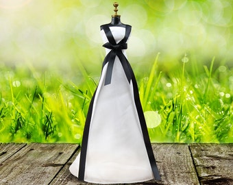 Handmade White Dress Princess Clothes Formal Gown For Barbie Dolls