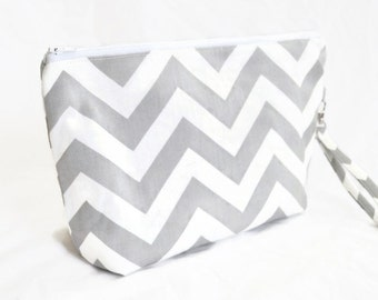 Ready to ship Large Diaper/Zipper Pouch