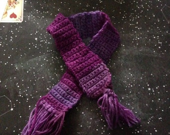 Blythe / Basaak / Licca crochet scarf - different colours