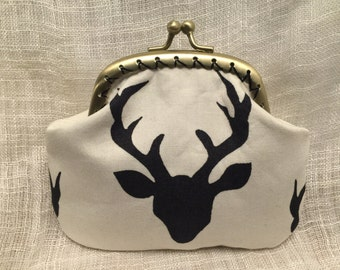 Deer Head Coin purse
