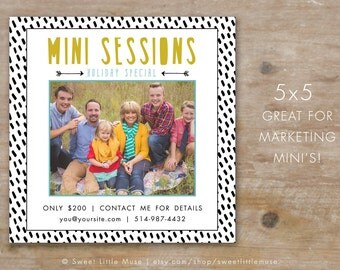 Mini Session Template - Photography Mini Session template - Photography marketing