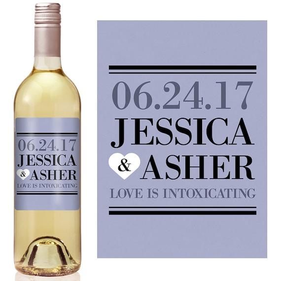 Wedding Wine Label Custom Wine Label Personalized Wine Label