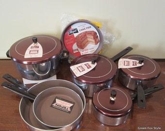 NIB set of Regal Teflon Cookware