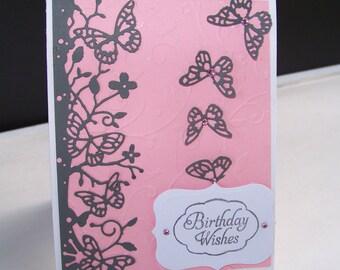 Greeting Card Handmade Birthday Wishes
