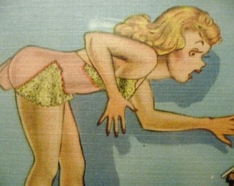 Final Clearance -Vintage Comic Post Card -