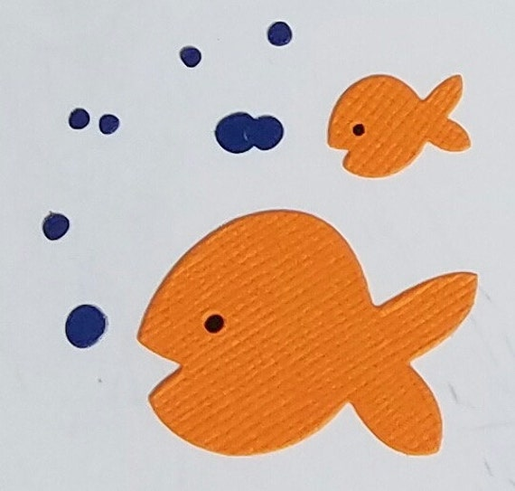 Items Similar To Fish Die Cuts On Etsy