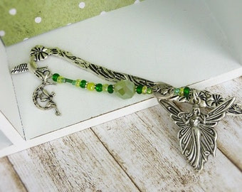 "Bookmark "" delicate wing beat "" fairy butterfly"