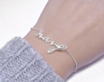 NEW Chain Navy Bracelet