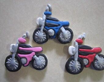 1 Dozen Motorcycle Hand Decorated Cookies