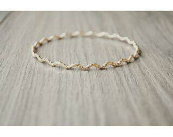 Bracelet gold Bohemian ring, plated gold 18 k for woman.