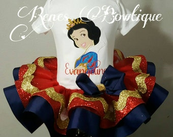 Snow White Ribbon Tutu Set