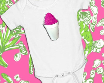 Snoballs, white onsie Snap bottom all in one bodysuit