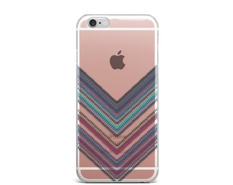 Clear iPhone 7 case, iPhone 6 clear case, iPhone 6s clear case, iPhone 7 clear case, iPhone 6 case clear, iPhone 6s case clear - chevron