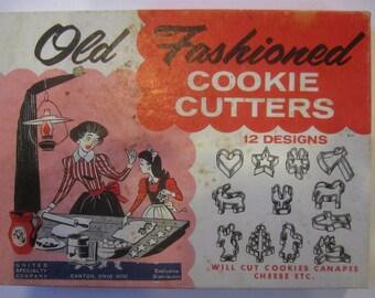 Cookie Cutters Vintage Box