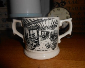 special edition cider mug wade potteries staffordshire vintage collectible shabby chic decorative cup