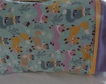 Standard Size Pillow Cases Fox Pillow Cases Children's Pillow Cases Pillow Cover Pillow Slip