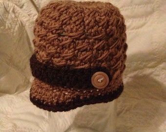 Newsboy tall cap