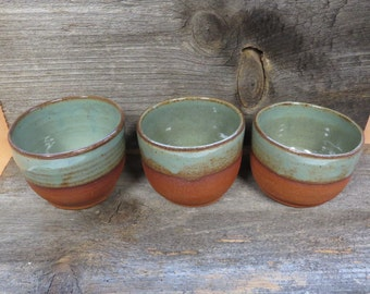 Set of 3 Rustic Whiskey Sipping Cups
