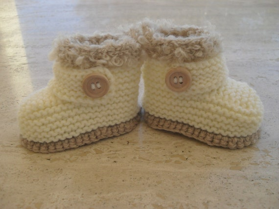 Baby Shoes Knitting Pattern : Free Baby Bootie Knitting Patterns Australia
