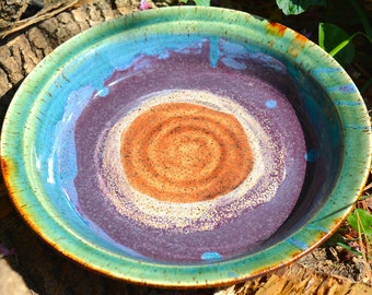 Ocean Love Ceramic Pie Plate