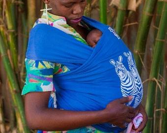 Best Stretchy elastic BabyWraps carrier blue zebra wrapstyle babySling green boy girl  African sling mother Gift Totowrap babycarrier