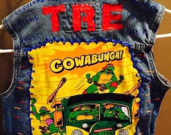 TMNT  inspired vest dashes