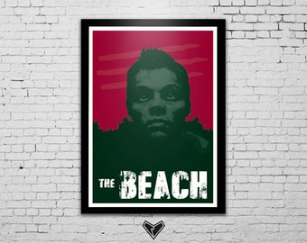 The Beach - Leonardo Dicaprio Poster