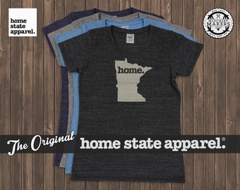 Minnesota Home T-shirt- Womens Cut