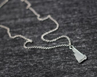 New Hampshire Necklace - Home State Apparel New Hampshire Home Necklace Charm