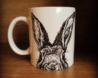 Hand Drawn Animal Mugs