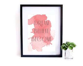 Printable Quote - Art Print - Wall Art - Inspirational Quote - Quote - Motivational Quote - Print - Digital Print