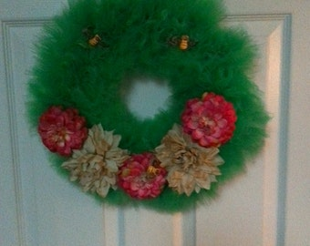 Garden Party Tulle Wreath