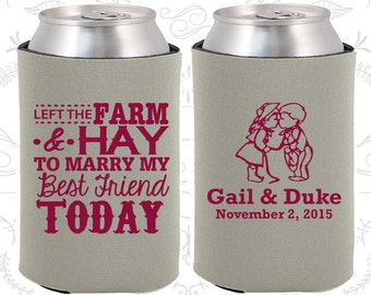 Pewter Wedding, Can Coolers, Pewter Wedding Favors, Pewter Wedding Gift, Pewter Party Gift (346)