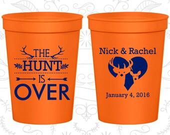 Orange Stadium Cups, Orange Cups, Orange Plastic Cups, Orange Party Cups, Orange Wedding Cups (471)