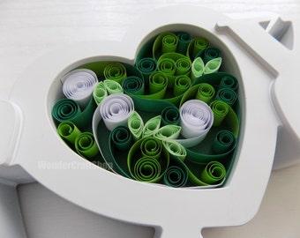 Green Heart, Custom Gift for Wife, Wedding Decoration, Anniversary Gift for Her, Love Heart, Heart Photo Prop, Heart Nursery Decor