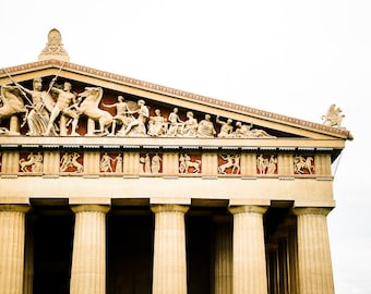 "Nashville Art, Photography, Parthenon, Nashville Landmark, Centennial Park, Nashville Wall Decor, Nashville Print,  ""Parthenon"""